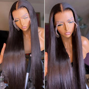 Bone straight lace wig