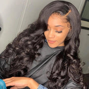 Transparent Lace Closure Wig