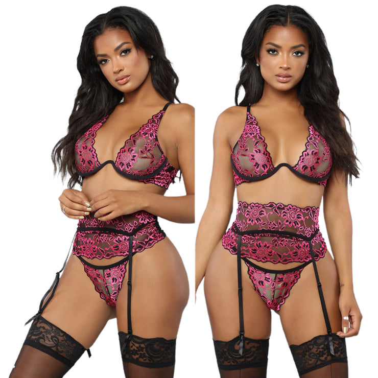 Breath- taker lingerie set