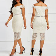 Elegant Mesh bottom dress