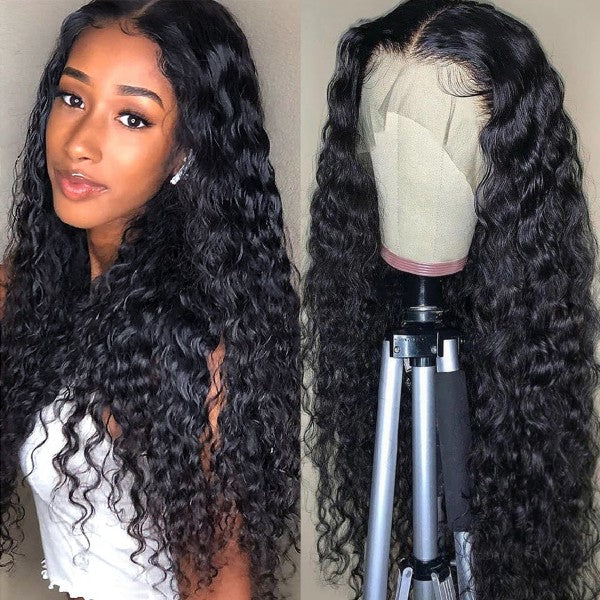 Water Wave HD Lace Part Wig