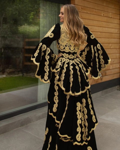 Saudi Arabia Long Prom Gown