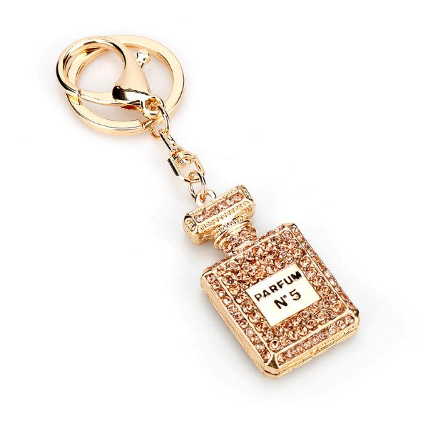 Bottle Shape Pendant Keychain