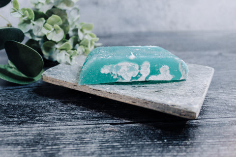 Forest Dead Sea Salt Soap - rose + twig apothecary
