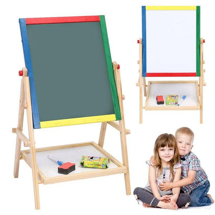 2-In-1 Kids Folding Drawing Board Multi-Color Snatcher Online Shopping South Africa