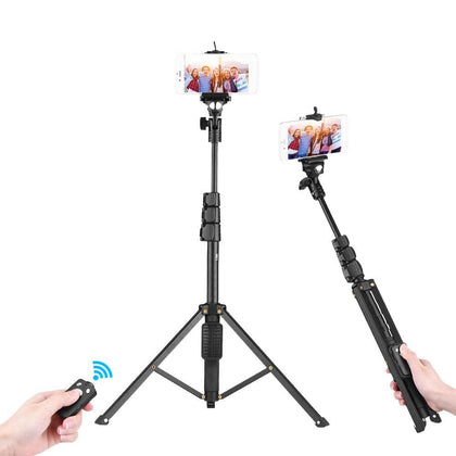 2-In-1 Selfie Stick And Tripod With Remote Snatcher Online Shopping South Africa