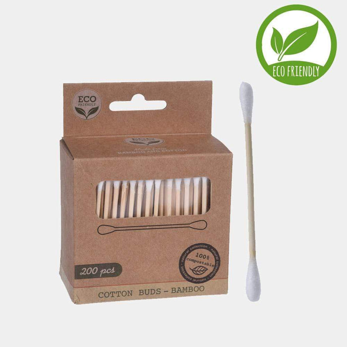 200-Piece Eco Bamboo Cotton Swabs Snatcher Online Shopping South Africa