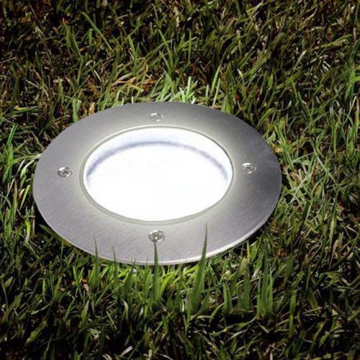 2x Solar Powered Flat Ground LED Lights Snatcher Online Shopping South Africa