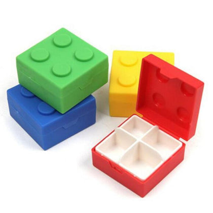 2x Stackable Brick Pill Cases Snatcher Online Shopping South Africa