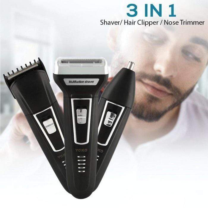 3-In-1 Rechargeable Hair Shaver/Clipper/Trimmer Snatcher Online Shopping South Africa