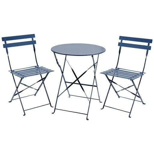 3 Piece Bistro Metal Chairs And Table Snatcher Online Shopping South Africa