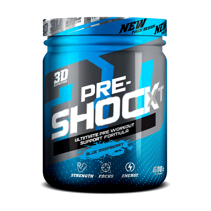 3D Nutrition Pre-Shock XT Blue Raspberry Snatcher Online Shopping South Africa
