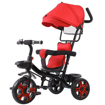 4-in-1 Baby Tricycle Stroller Red Snatcher Online Shopping South Africa
