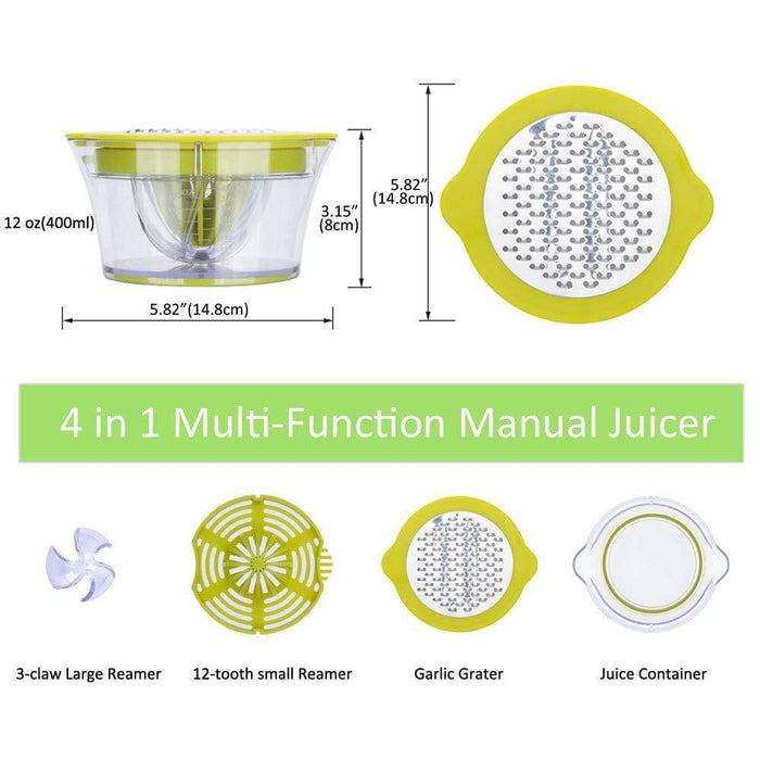 4-In-1 Manual Juicer Snatcher Online Shopping South Africa