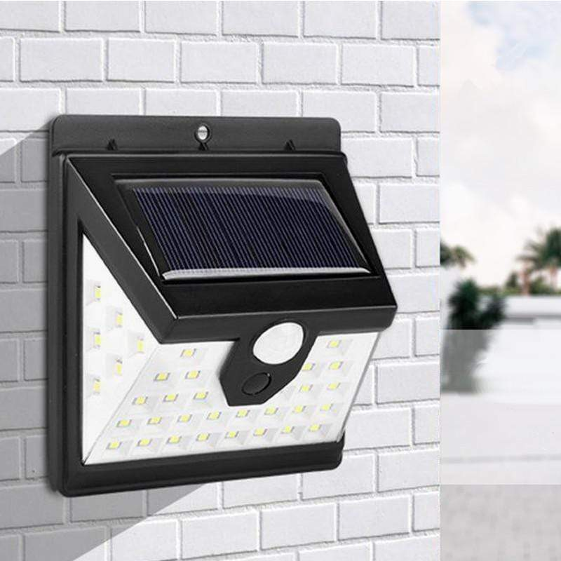 40 LED Solar PIR Wall Light Snatcher Online Shopping South Africa