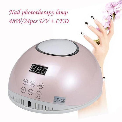 48 Watt Professional UV/LED Nail Lamp Snatcher Online Shopping South Africa