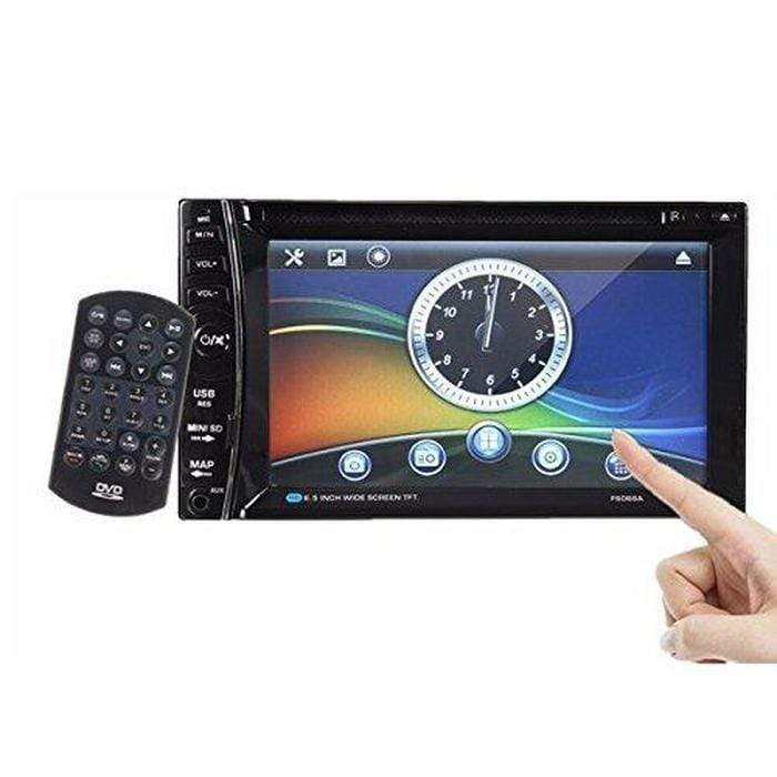 "6.5"" Touchscreen Bluetooth Car Radio And DVD Player Snatcher Online Shopping South Africa"