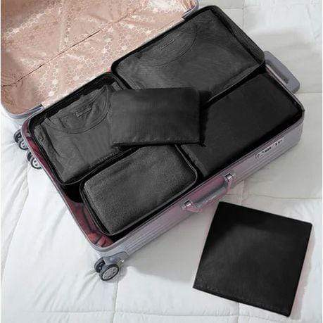 6-Piece Black Luggage Organiser Set Snatcher Online Shopping South Africa