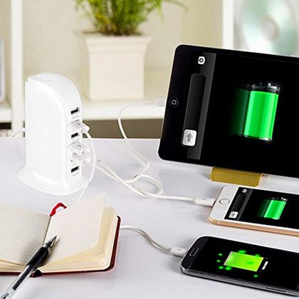 6 Port USB Charger with Spy Camera Snatcher Online Shopping South Africa
