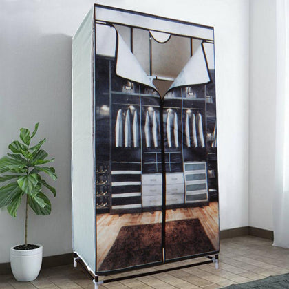 6 Shelf Portable Fabric Wardrobe Snatcher Online Shopping South Africa