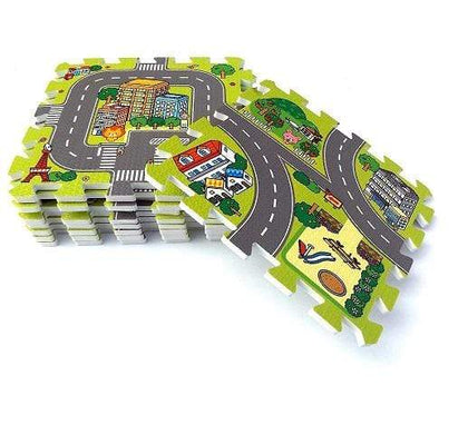 9-Piece Eva Road Map Tiles Snatcher Online Shopping South Africa