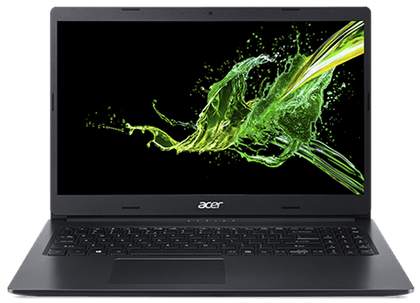 Acer Aspire A315-34 Series Black Notebook - Intel Celeron Dual Core N4000 1.10Ghz with Turbo Boost up to 2.6Ghz 4MB L3 Cache Processor, 4GB DDR4-2400 Memory onboard, No memory slots, 500GB SATA Hard Drive, NO optical drive, 15.6