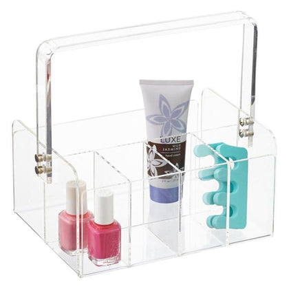 Acrylic Cosmetics Storage Box With Handle Snatcher Online Shopping South Africa