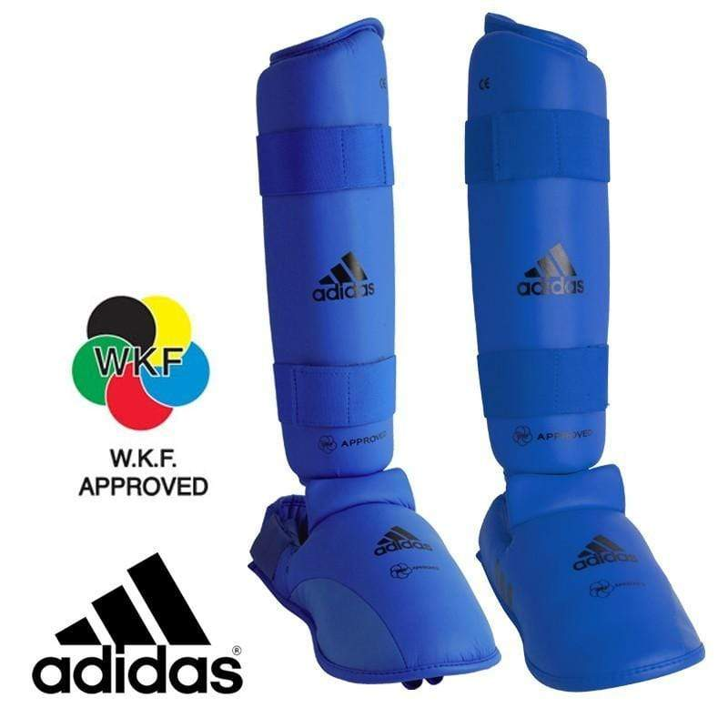 Adidas WKF Shin and Removable Instep Pads Medium / Blue Snatcher Online Shopping South Africa