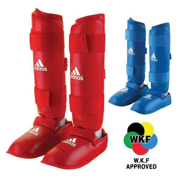 Adidas WKF Shin and Removable Instep Pads Small / Blue Snatcher Online Shopping South Africa