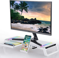 Adjustable RGB Space-Saving Monitor Stand Snatcher Online Shopping South Africa