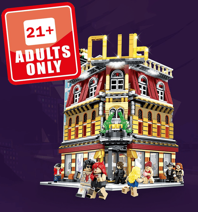 Adults Night Club Building Blocks Set (21+) Snatcher Online Shopping South Africa