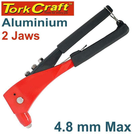 ALUMINIUM HAND RIVETER  4.8MM MAX 2 JAW Snatcher Online Shopping South Africa