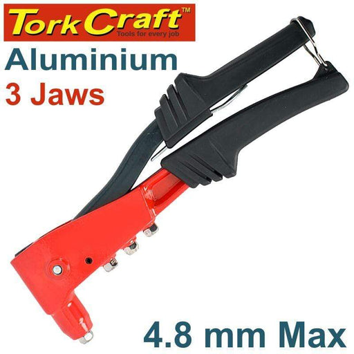 ALUMINIUM HAND RIVETER  4.8MM MAX 3 JAW H/DUTY Snatcher Online Shopping South Africa