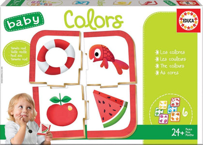 Baby Educational Puzzle - Colours (6 Asst) 24+ Months Snatcher Online Shopping South Africa