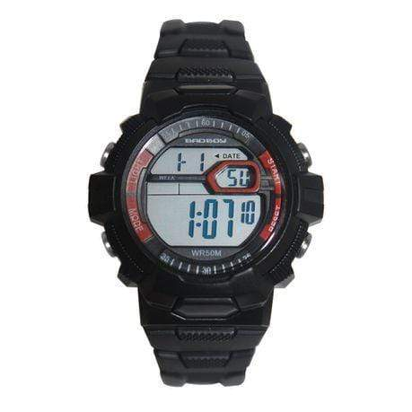 Bad Boy Mid-Size 50M-WR Digital Watch - Black Snatcher Online Shopping South Africa