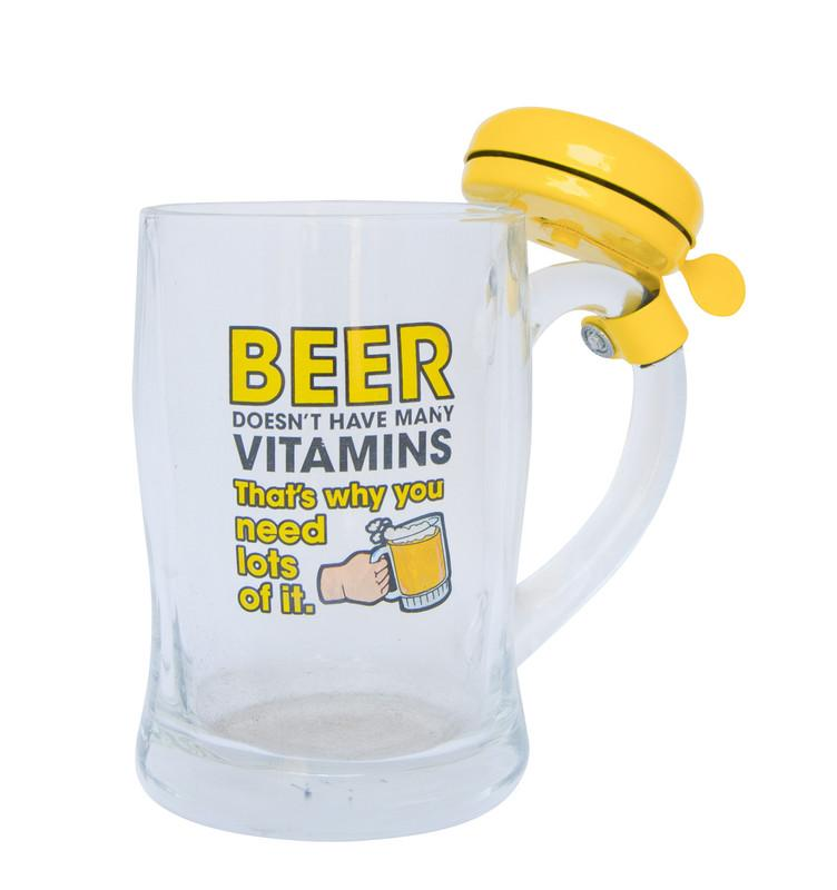 Beer Mug With Bell Yellow Snatcher Online Shopping South Africa