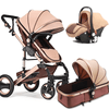 Belecoo 3 In 1 Foldable Baby Pram Stroller Khaki Snatcher Online Shopping South Africa