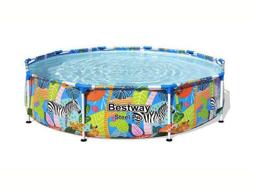 Bestway Steel Pro Frame Pool - Wild Print Snatcher Online Shopping South Africa