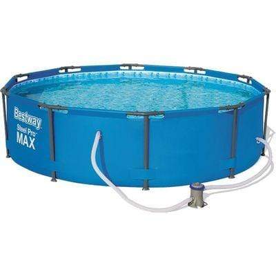 Bestway Steel Pro MAX Frame Pool - 4.678L- Pump Included Snatcher Online Shopping South Africa