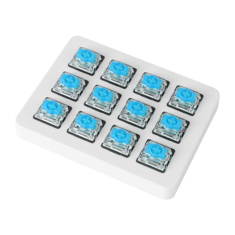 Blue Gateron Low Profile Switch with Holder Set 12Pcs/Set Snatcher Online Shopping South Africa
