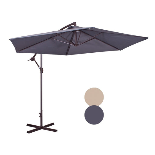 Cantilever Umbrella With Aluminium Poles Snatcher Online Shopping South Africa