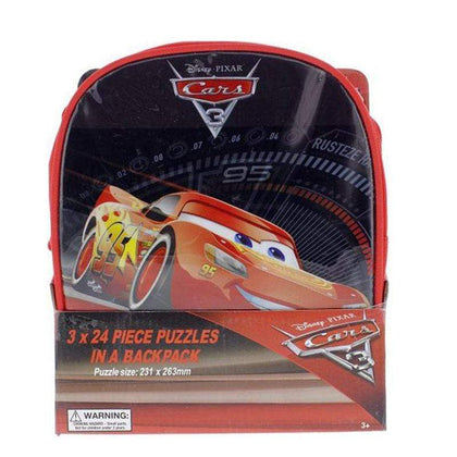 CARS 3 – 3 Puzzles In Backpack Snatcher Online Shopping South Africa