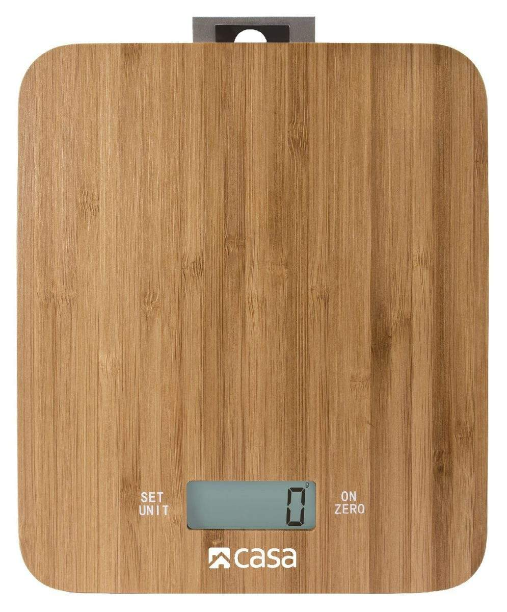 CASA Electronic Bamboo Kitchen Scale Snatcher Online Shopping South Africa