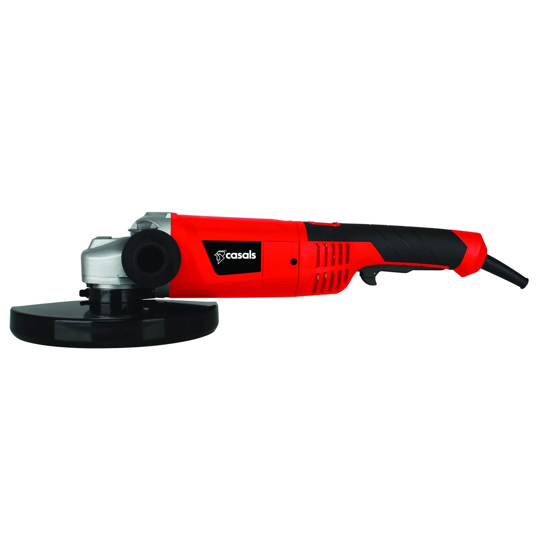 Casals Angle Grinder With Auxiliary Handle Plastic Red 230mm 2000W Snatcher Online Shopping South Africa