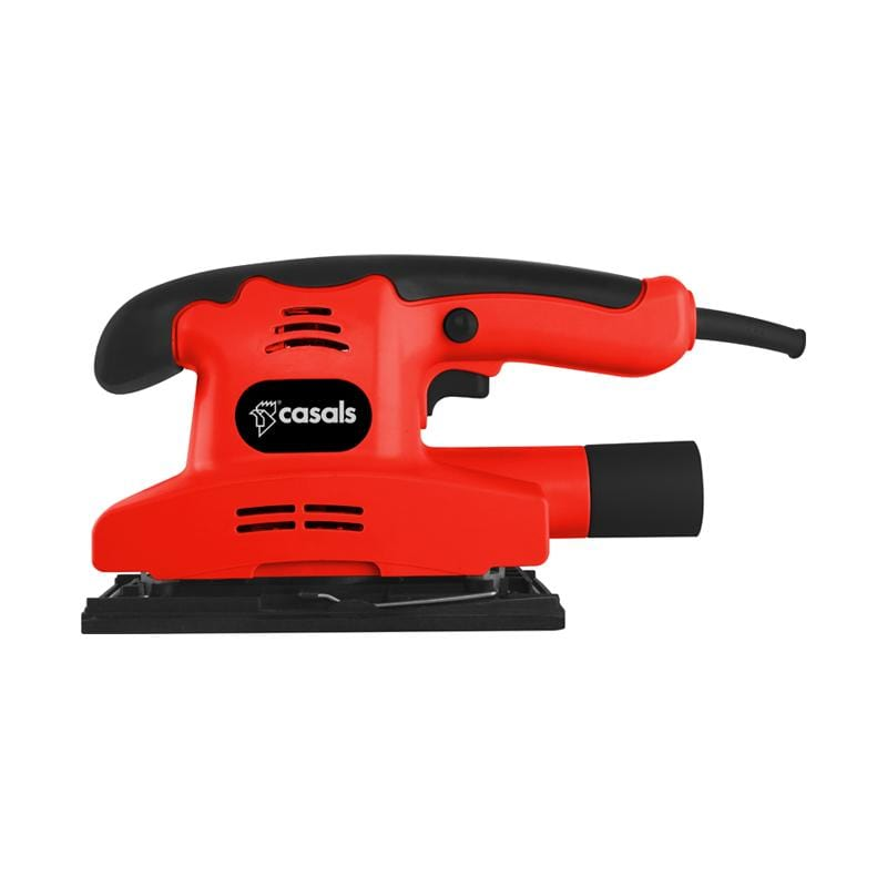 Casals Orbital Sander With Trigger Lock Plastic Red 90 x 187mm 150W Snatcher Online Shopping South Africa
