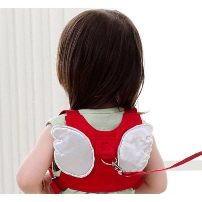 Child Safety Harness & Backpack - Angel Wings Red & White Angel Wings Snatcher Online Shopping South Africa