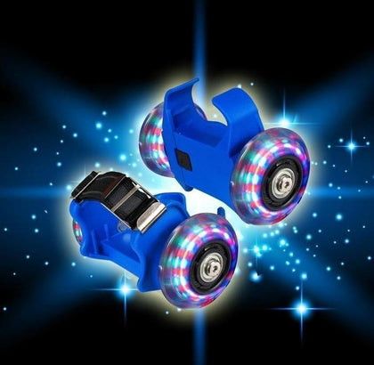 Clip-On Heel Roller Skates Blue Snatcher Online Shopping South Africa