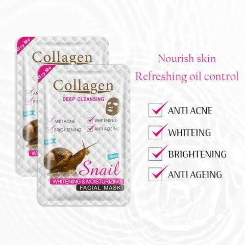 Collagen Snail Extract Facial Mask Snatcher Online Shopping South Africa