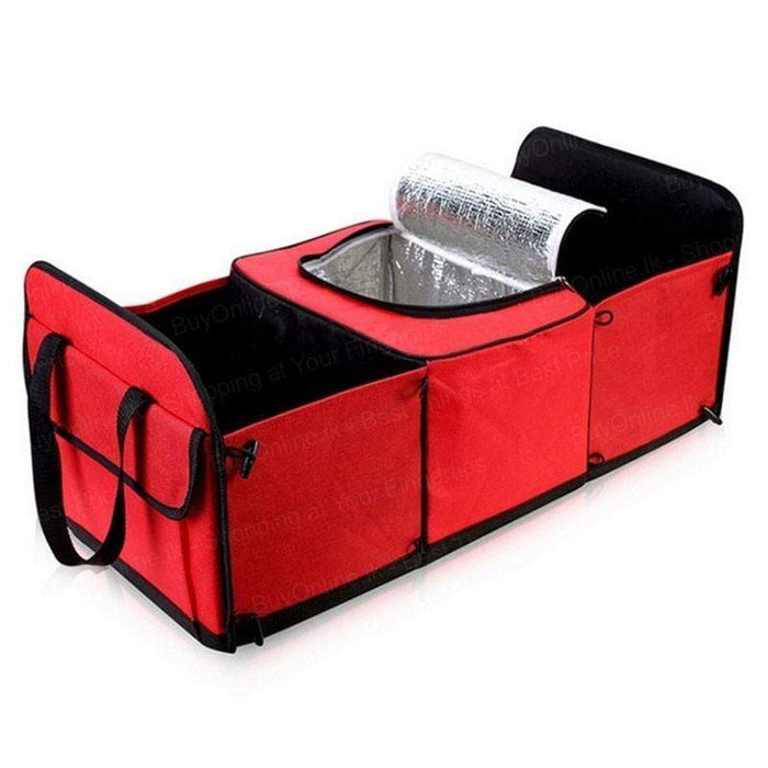 Collapsible Trunk Organizer With Cooler Bag Snatcher Online Shopping South Africa