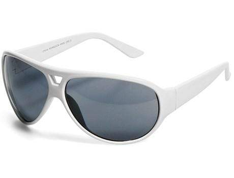 Cruise Sunglasses - Solid White Only Solid White Snatcher Online Shopping South Africa